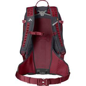 VAUDE Bike Alpin 25+5 Plecak czerwony